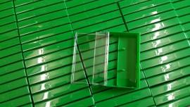 Green cassette cases