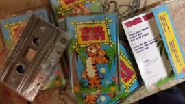 Childrens' 'Tiger' songs tape