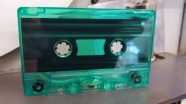 Green dark clear cassette