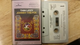 Thin Lizzy 'Johnny The Fox' cassette