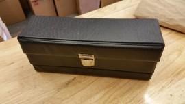 vintage cassette carry case
