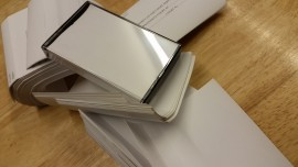recycle inlay cards x 50