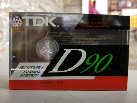 TDK D90 Old style