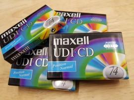Maxell UDI CD Cobalt C74