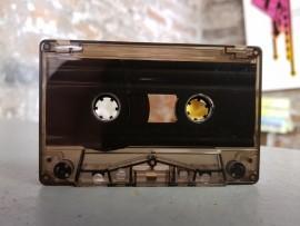 Dark clear cassette