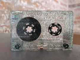 Gold/Green/Blue Glitter Cassette superferro