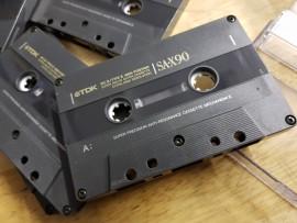 TDK SA-X 90 used once