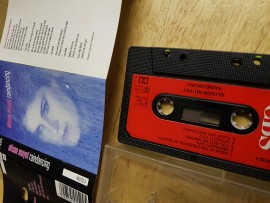 Alison Moyet 'Raindancing' cassette album