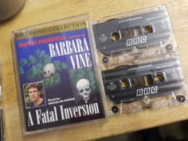 Ruth Rendell- Barbara Vine double cassette