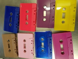Choose your cassette colour