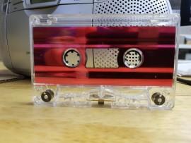 Red Metallic Liner cassette