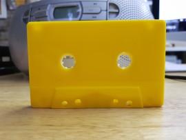 Yellow windowless cassette