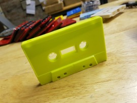 Highly visible tapes green