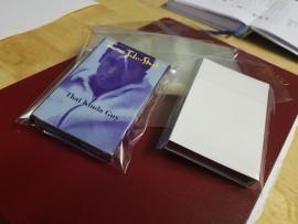 Cellowrap 'O' cassette sleeve/slip pack