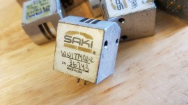 SAKI Tape head! cassette souvenir