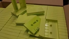 HiViz Green solid case **NEW**