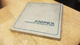 "ampex 456 1/4"" empty spool/box"