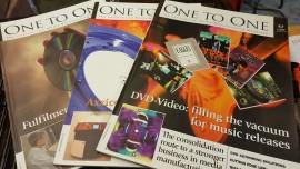 Rare trade magazine for tape/disc