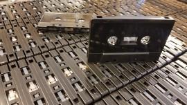 50 x C25 Black Cassettes