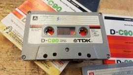 Original 1970s Vintage TDK D90