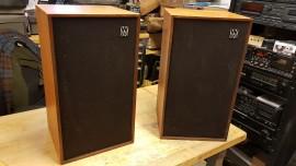 Pair Vintage Wharfedale Linton Speakers