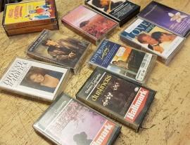 10 x unfashionable cassette tapes
