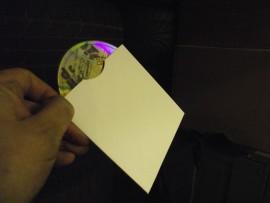 CD card sleeve