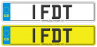 1 FDT rare number plate