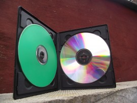 twin CD/DVD cases