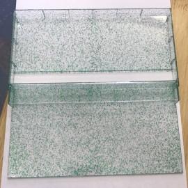Green Glitter Triple Cases