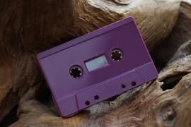 Plum Purple cassettes, new