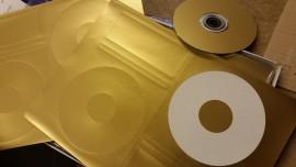 Gold CD labels