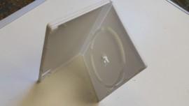 White DVD CD cases WEDDING cases